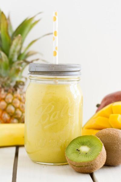 haseimglueck.de Rezept, Smoothie Kiwi Ananas Mango 6
