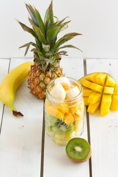 haseimglueck.de Rezept, Smoothie Kiwi Ananas Mango 8