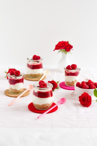 haseimglueck.de Rezept, No Bake Himbeer Cheesecakes 2