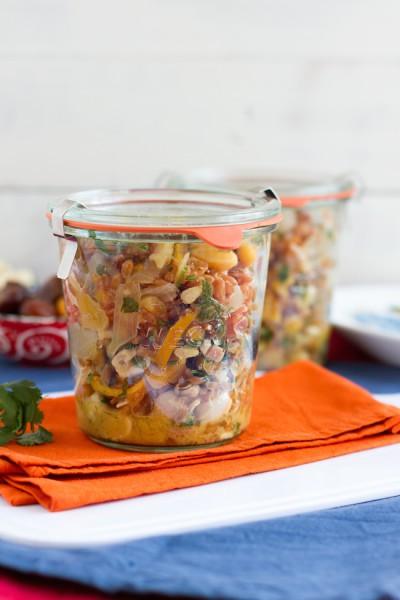 haseimglueck.de Rezept, Dinkel-Pilaw-Salat 2