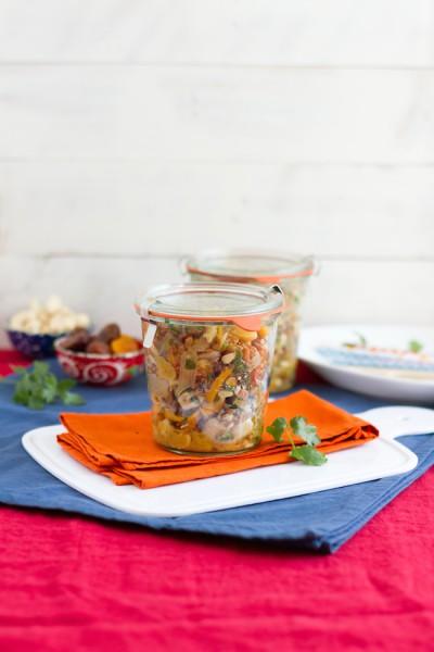 haseimglueck.de Rezept, Dinkel-Pilaw-Salat 5