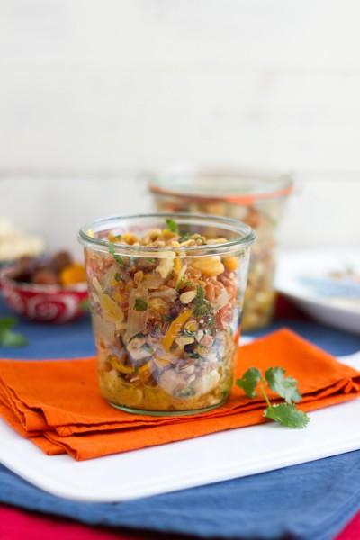haseimglueck.de Rezept, Dinkel-Pilaw-Salat 6