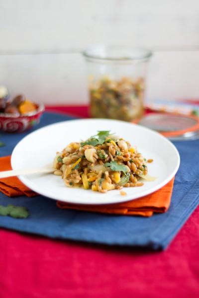 haseimglueck.de Rezept, Dinkel-Pilaw-Salat 9