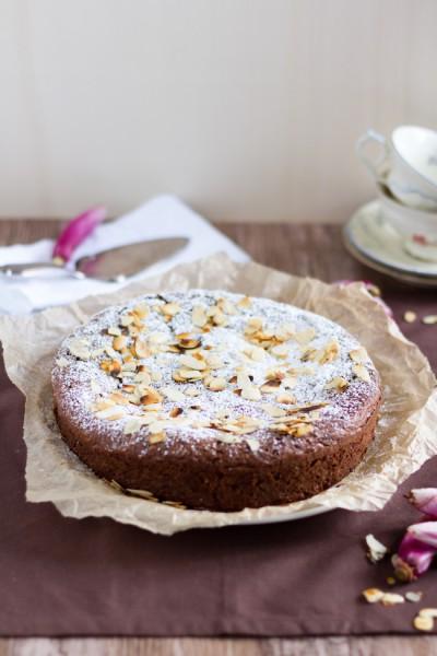 haseimglueck.de Rezept, Mandel Kuchen 2