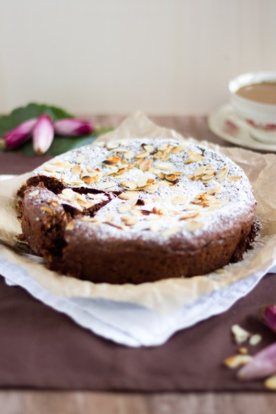 haseimglueck.de Rezept, Mandel Kuchen 7