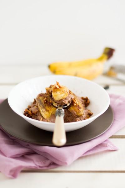 haseimglueck.de Rezept, Quark Schokolade Banane 1