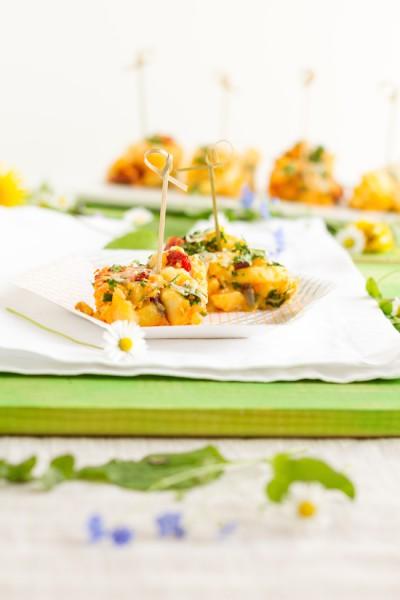 haseimglueck.de Rezept, Tortilla Kartoffeln Chorizo 6