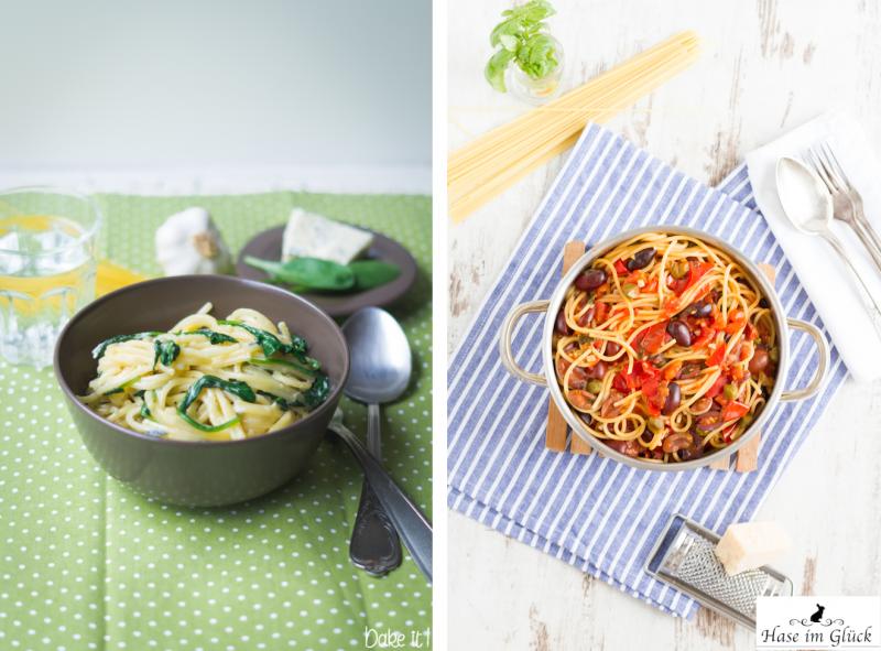 haseimglueck.de Rezept, One Pot Pasta alla Puttanesca 1