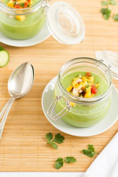 haseimglueck.de Rezept, Kalte Gurken Avocado Suppe mit Mango 5