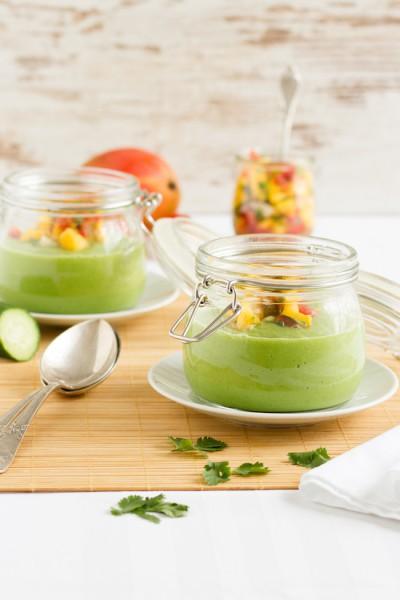 haseimglueck.de Rezept, Kalte Gurken Avocado Suppe mit Mango 9