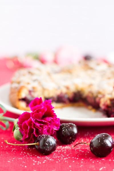 haseimglueck.de Rezept, Kirsch Streusel Kuchen 6