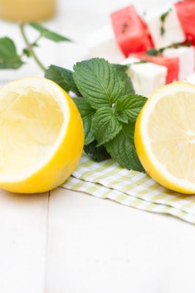 Melonen Feta Spieße Rezept 3