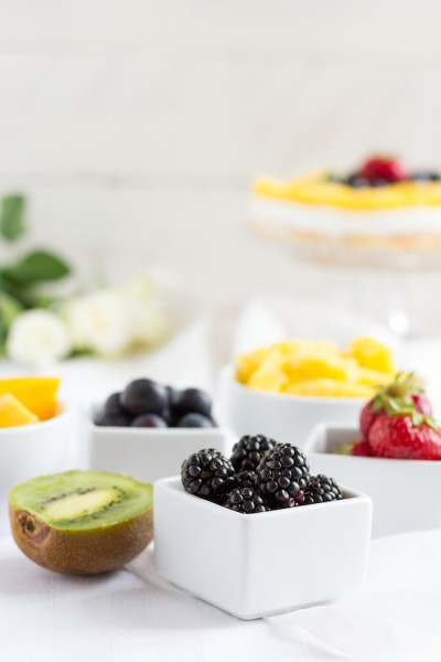 haseimglueck.de Rezept, Biskuit Obstkuchen mit Zitronen Creme 6