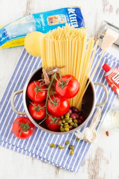 haseimglueck.de Rezept, One Pot Pasta alla Puttanesca 10