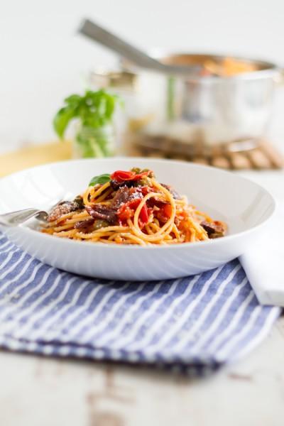 haseimglueck.de Rezept, One Pot Pasta alla Puttanesca 5