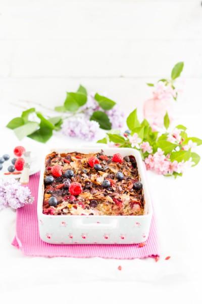 haseimglueck.de Rezept, Quinoa Superfoods Auflauf 2