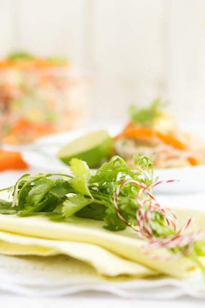 haseimglueck.de Rezept, Glasnudeln Papaya Salat 7