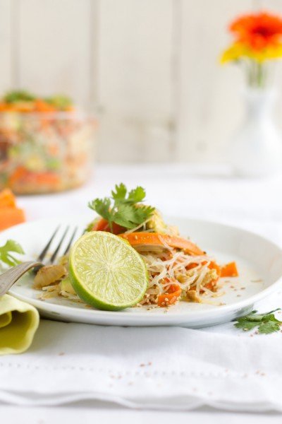 haseimglueck.de Rezept, Glasnudeln Papaya Salat 8