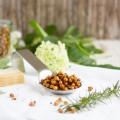 haseimglueck.de Rezept, Kichererbsen mit Parmesan + Rosmarin 1