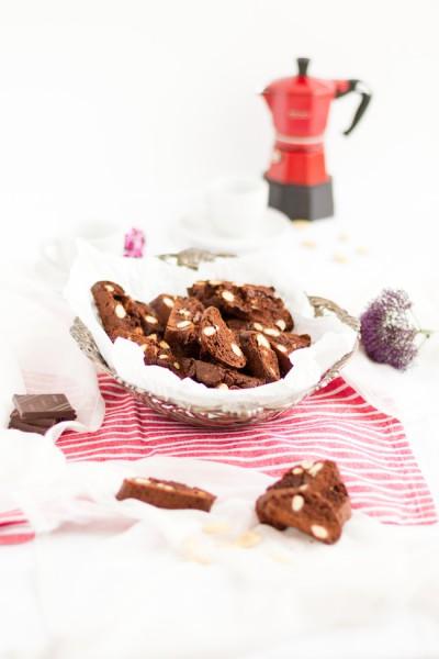 haseimglueck.de Rezept, Schokoladen Cantuccini 1