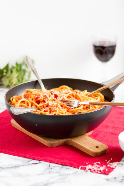 haseimglueck.de Rezept, Bucatini all' Amatriciana 10