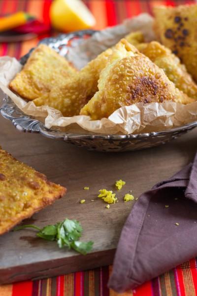 haseimglueck.de Rezept, Samosa Hackfleisch Kartoffeln 3