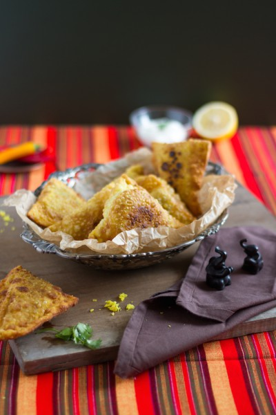 haseimglueck.de Rezept, Samosa Hackfleisch Kartoffeln 6