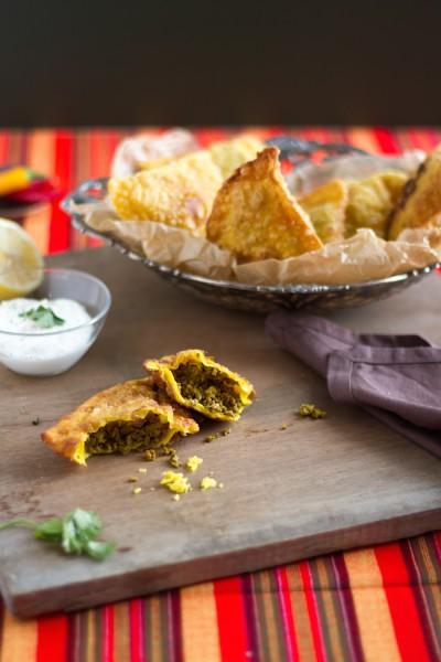 haseimglueck.de Rezept, Samosa Hackfleisch Kartoffeln 8