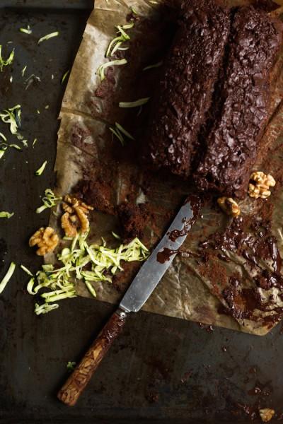 haseimglueck.de Rezept, Zucchini Dunkle Schokolade Brot 1