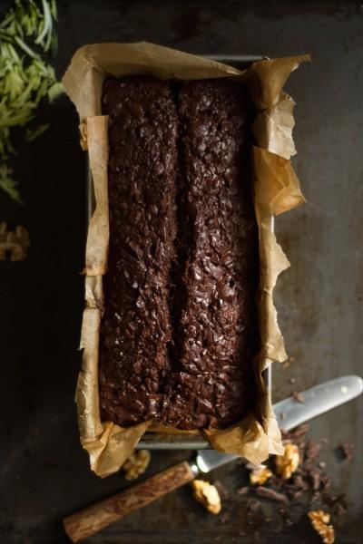 haseimglueck.de Rezept, Zucchini Dunkle Schokolade Brot 2