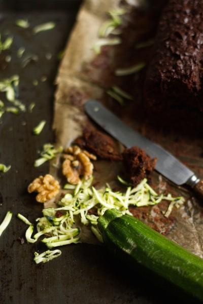 haseimglueck.de Rezept, Zucchini Dunkle Schokolade Brot 3