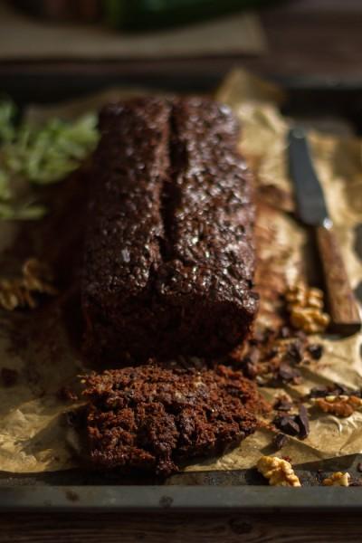 haseimglueck.de Rezept, Zucchini Dunkle Schokolade Brot 5