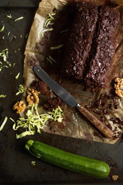 haseimglueck.de Rezept, Zucchini Dunkle Schokolade Brot 8