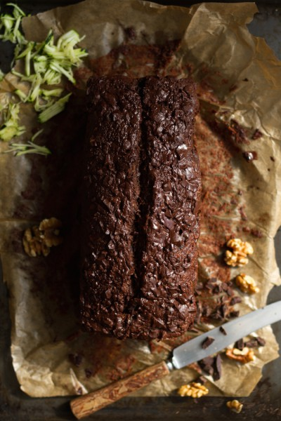 haseimglueck.de Rezept, Zucchini Dunkle Schokolade Brot 9
