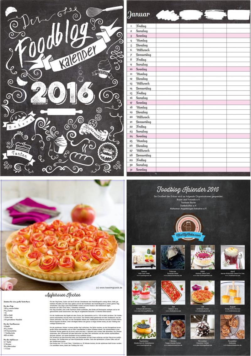 Foodblog Kalender