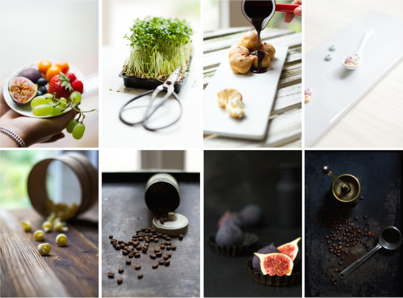 Kollage Food Foto Workshop