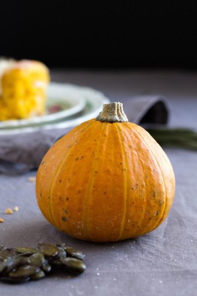 Kürbis Zimtschnecken I  Pumpkin Cinnamon Rolls I  haseimglueck.de