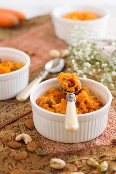Indisches Karotten Halva I Indian Carrot Halva I haseimglueck.de