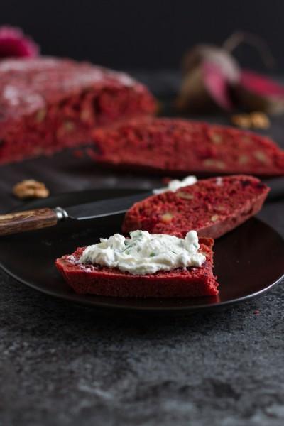 Rote Bete Brot I Beetroot Bread I haseimglueck.de