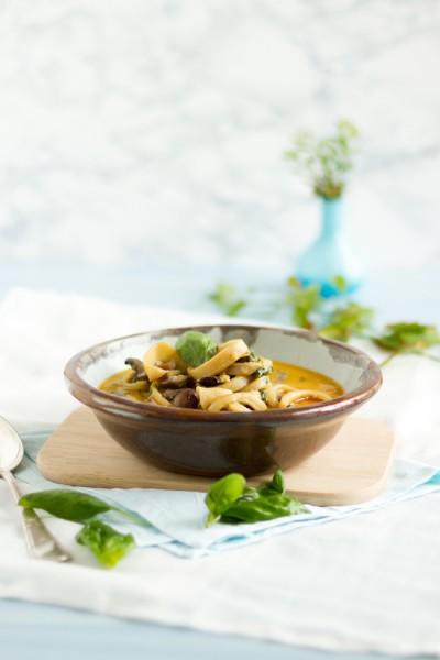 Thai Kalamari Suppe I  Thai Calamari Soup I  haseimglueck.de