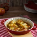 Apfel Dumplings in Honig Butter Sauce I Apple Dumplings with Honey Butter Sauce I haseimglueck.de