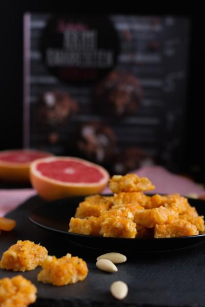 Aprikosen Mandel Grapefruit Snack I Apricot Almond Grapefruit Snack I haseimglueck.de
