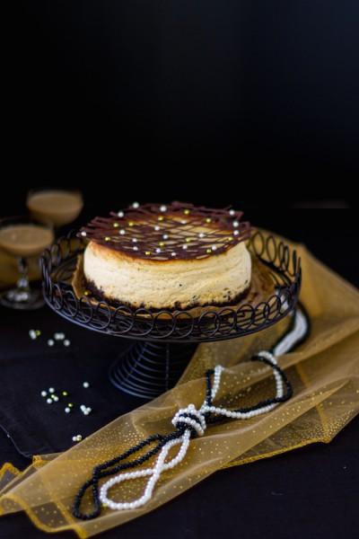 Baileys Käsekuchen mit Oreo Boden I Baileys Cheesecake with Oreo Cake Base I haseimglueck.de