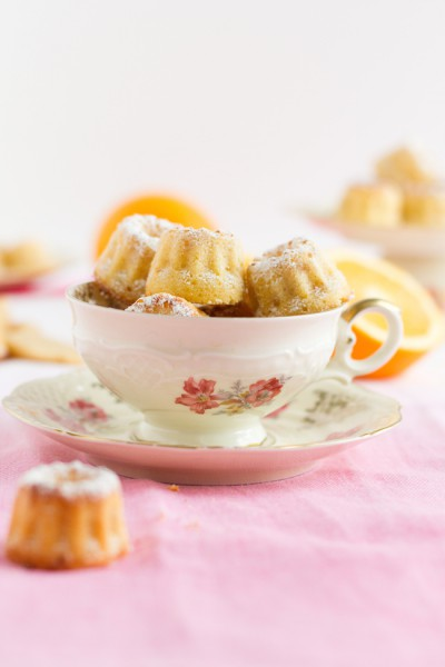 Mini Gugl mit Marzipan & Orange I Mini Bundt Cake with Marzipan & Orange I haseimglueck.de