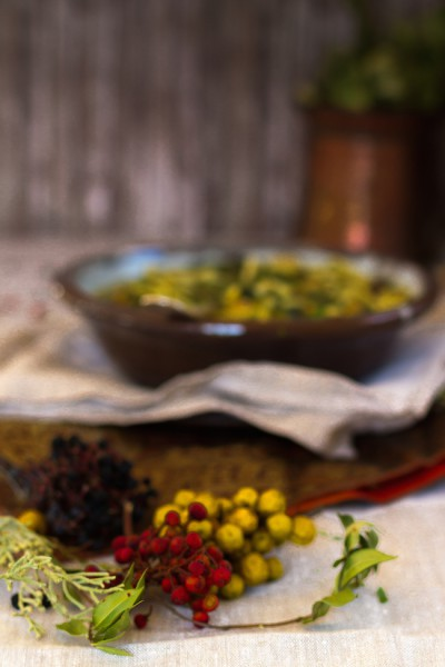 Persische Bohnen Nudel Suppe I Persian Bean & Noodle Soup