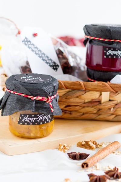 Mango Chutney I Pomegranate Jam I Gingerbread Granola I haseimglueck.de