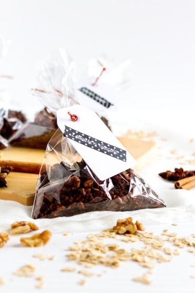 Lebkuchen Knuspermüsli I Gingerbread Granola I haseimglueck.de