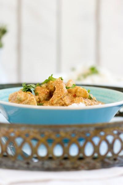 Chicken Tikka Masala with Yoghurt & Banana I haseimglueck.de