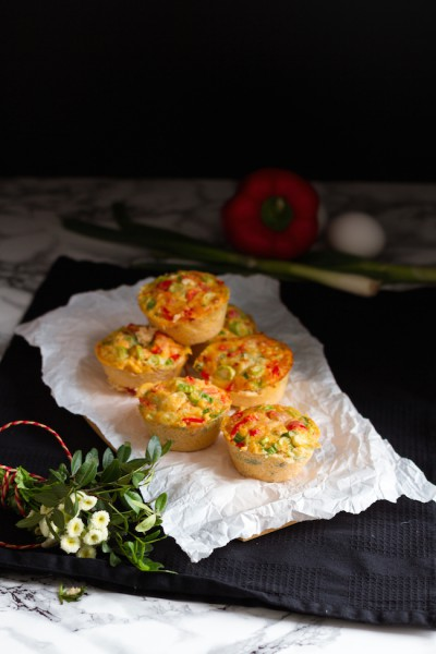 Eier Muffins I Egg Muffins I haseimglueck.de