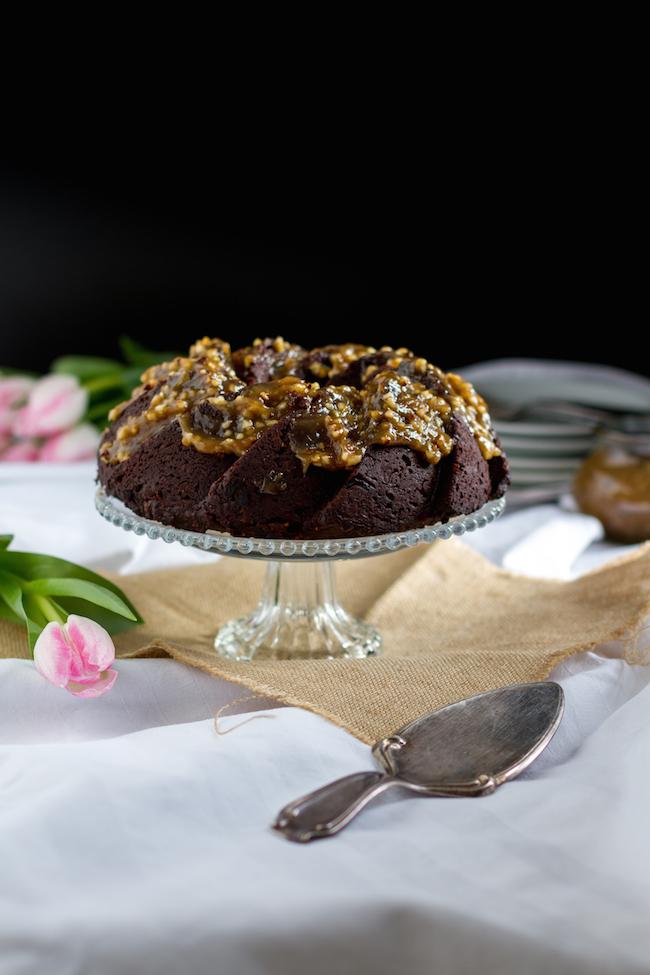 Stout Chocolate Bundt Cake